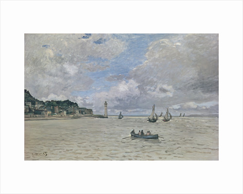 The Lighthouse of the Hospice (Honfleur) by Claude Monet