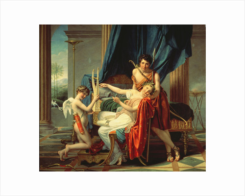Sappho and Phaon by Jacques Louis David