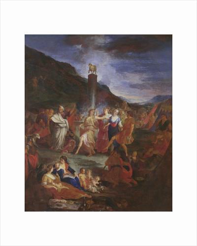 Adoration of the Golden Calf by Nicolas Bertin