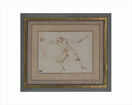 A Fencer, 1766 by Jacques Callot