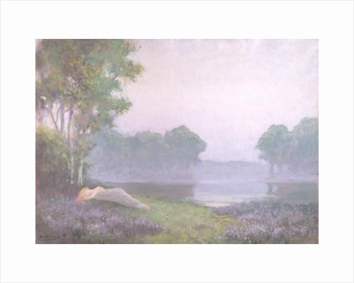 Asleep in the Heather, Morning, 1935 by Alphonse Osbert