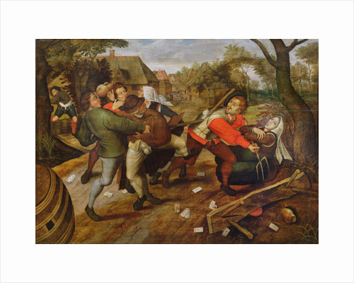 Peasants' Brawl by Pieter the Younger Brueghel