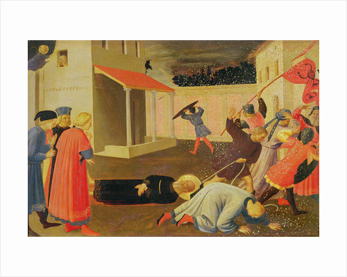 The Martyrdom of St. Mark, predella from the Linaiuoli Triptych by Fra Angelico