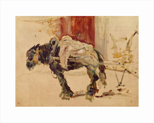 A Draft Horse at Céleyran by Henri de Toulouse-Lautrec