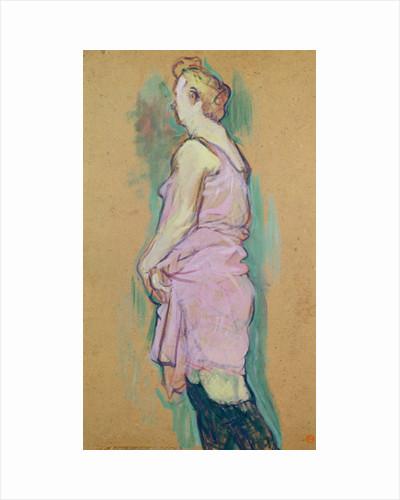 Femme de maison blonde by Henri de Toulouse-Lautrec