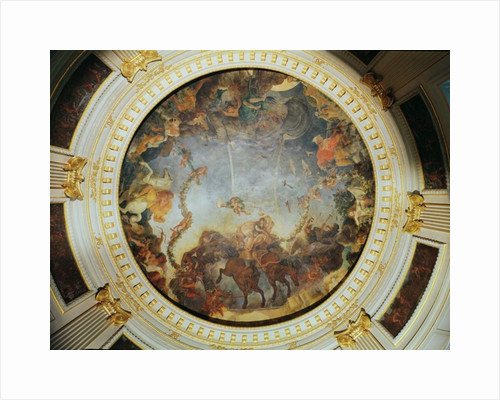 Ceiling depicting the Goddess Aurora by Charles Le Brun