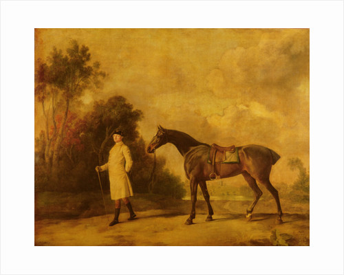 Assheton, first Viscount Curzon, and his mare Maria by George Stubbs