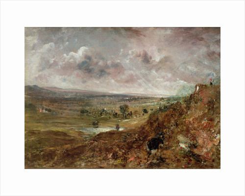 View of Hampstead Heath by John Constable