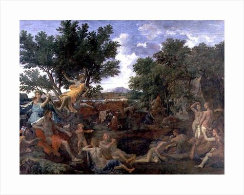 Apollo, Lover of Daphne by Nicolas Poussin