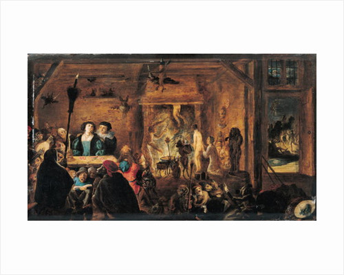 A Scene of Sorcery by David the Younger Teniers