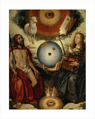 Allegory of Christianity by Jan II Provost