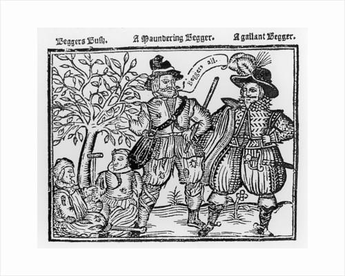 Beggars All: Beggars Bush, a Wandering Beggar and a Gallant Beggar by English School
