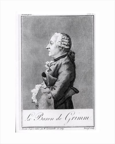 Baron Friedrich Melchior Grimm by Louis Carrogis Carmontelle