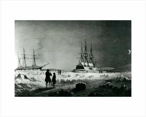 HMS Assistance and Pioneer in Winter quarters returning Daylight by English School