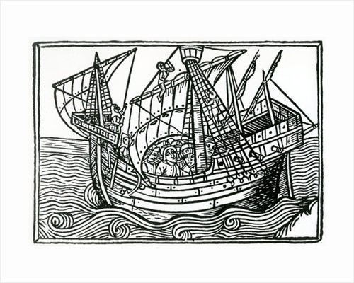 A Spanish Ship by Christopher Columbus