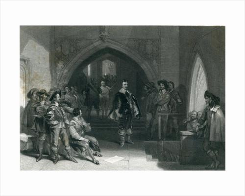 Arrest of Lord Strafford by English School