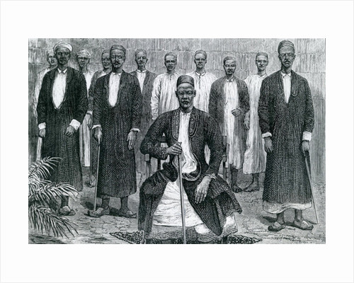 Sekebobo Chief of Chagwe, Mtesa Chief of Uganda, Chambarango and Pokino the Prime Minister by English School