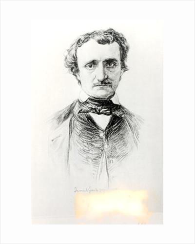 Edgar Allan Poe 1907 by Ismael Gentz