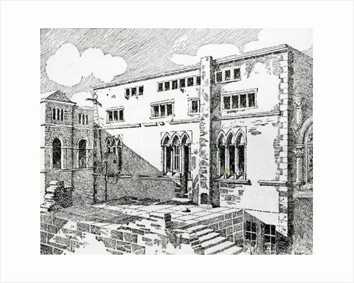 Ancient Synagogue at Metz by English School