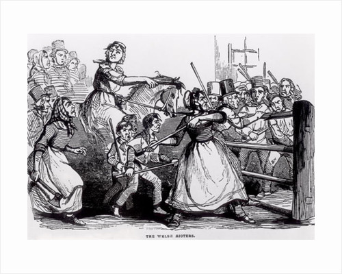 The Welsh Rioters by English School