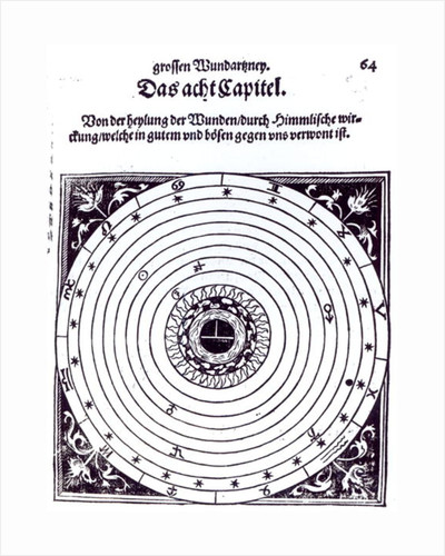 A Personal Astrological Chart by German School