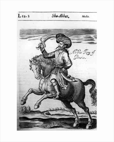 Abbas, King of Persia by English School