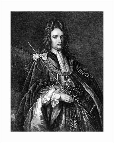 Portrait of Robert Harley, first Earl of Oxford by English School