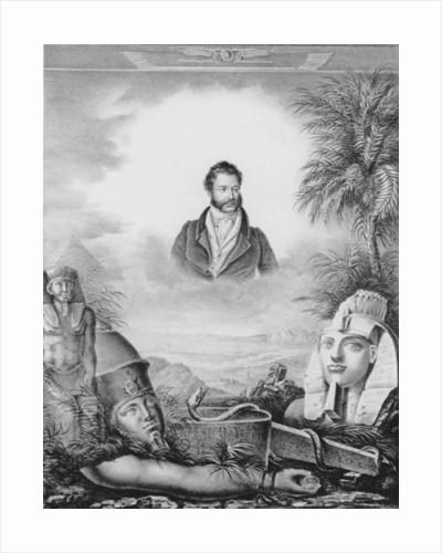 Portrait of Giovanni Battista Belzoni by Fabroni