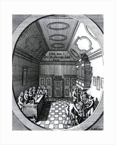 The Music Room by German School