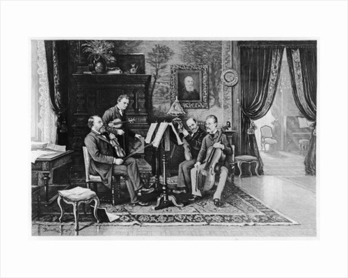 The String Quartet by French School