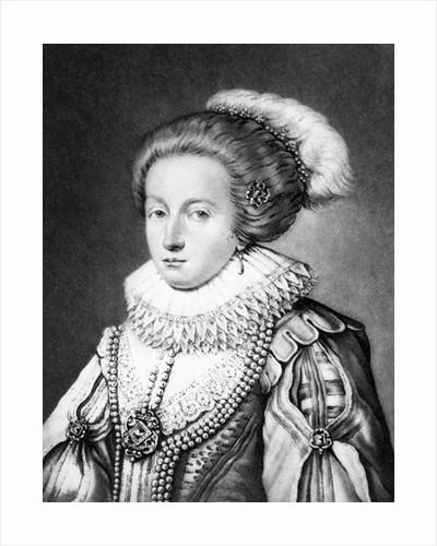 Elizabeth Stuart, Queen of Bohemia by English School