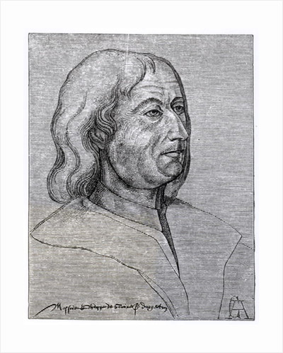 Portrait of Philippe de Commines by French School