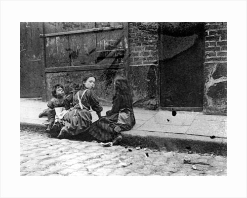 London Slums, Twine Court by English School