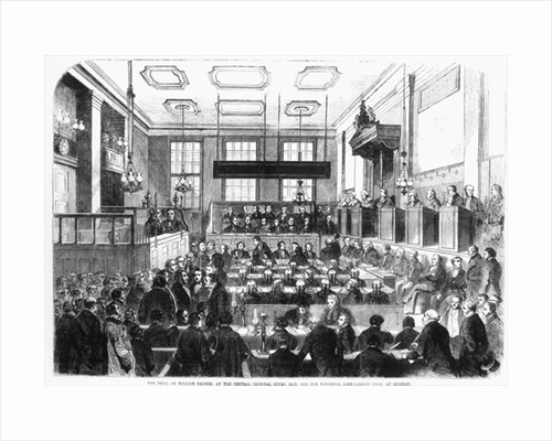 Trial of William Palmer, at the Central Criminal Court, May 1856, for Poisoning John Parsons Cook, at Rugeley by English School