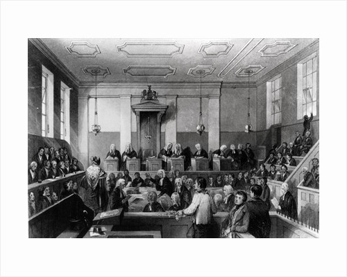Central Criminal Court, The Old Bailey by Thomas Hosmer Shepherd