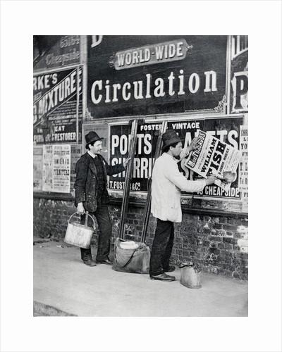 Street Advertising by John Thomson