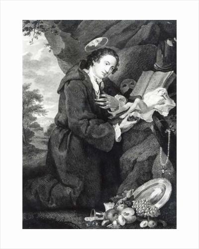 Sir Francis Dashwood worshipping Venus by George Knapton