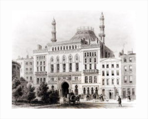 View of the Royal Panopticon of Science and Art by Thomas Hosmer Shepherd