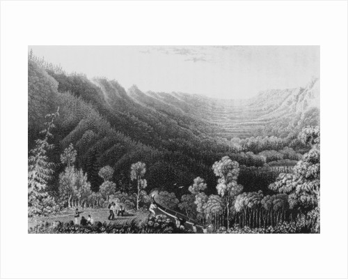 Vale of the Clearwater River from the Methye Portage by George Back