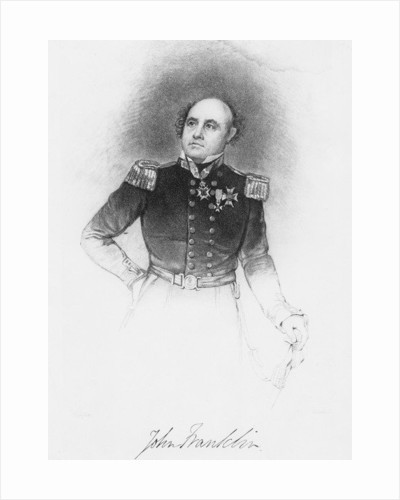 Sir John Franklin by English School