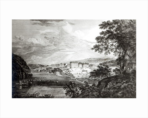 A View of Bethlem the Great Moravian Settlement in the province of Pennsylvania by Paul Sandby