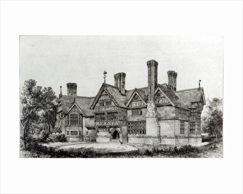 House recently erected at Harrow Weald by English School