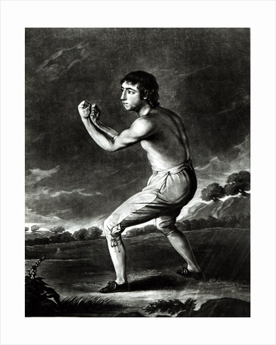 Portrait of Daniel Mendoza by English School