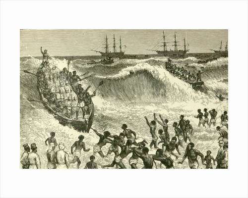 The Ashantee War by English School