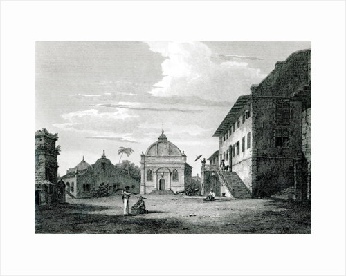 Government House at Malacca by Edward Hawke Locker