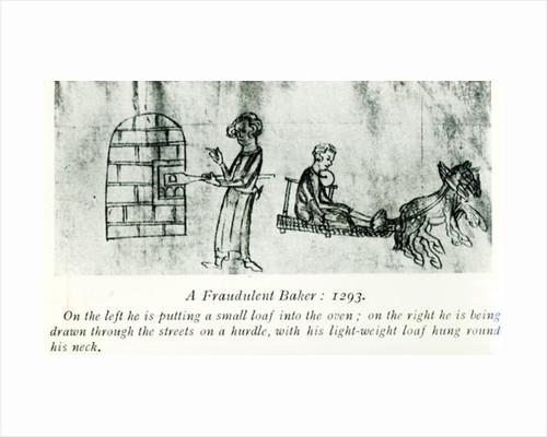 A Fraudulent Baker by English School