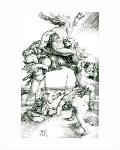 Witch by Albrecht Dürer or Duerer
