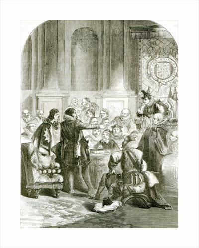Buckingham before the Council by English School