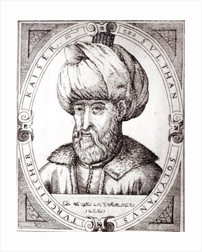 Portrait of Suleiman the Magnificent by English School