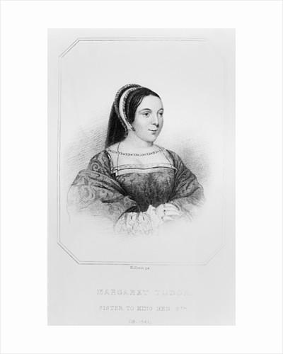 Portrait of Margaret Tudor Queen of Scotland by English School